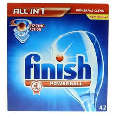 Finish All In 1 Powerball Regular 42 Tablets - MartDeliver