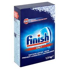 Finish Salt For Dishwashers Carton 1.5 Kg - MartDeliver