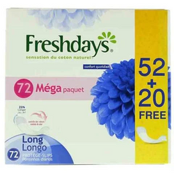 Freshdays Daily Comfort Long 72 Pieces
