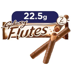 Galaxy Flutes Chocolate Twin Fingers 22.5 Gram