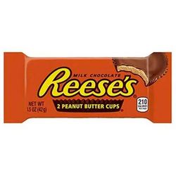 Hershey's Reese's Milk Chocolate Peanut Butter Cups 42g