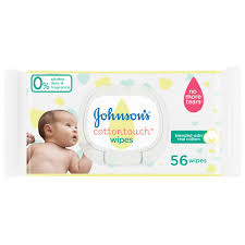 Johnson'S Cotton Touch Wipes 56 Wipes - MartDeliver