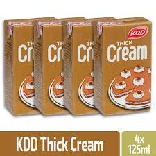 KDD Thick Cream 125 Ml 4 Pieces - MartDeliver