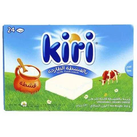 Kiri Cheese Portions 24 Pieces 432 Gram - MartDeliver