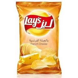 Lay's Chips Potato French Cheese Flavor 35 Gram