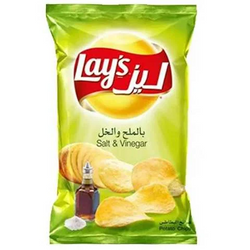 Lay's Chips Potato Salt And Vinager Flavor 40 Gram