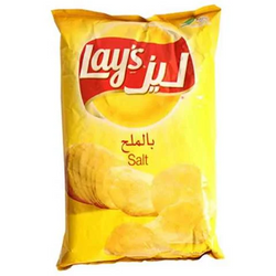 Lay's Chips Potato Salt Flavor 160 Gram