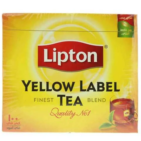 Lipton Tea Yellow Label Black 100 Bag - MartDeliver