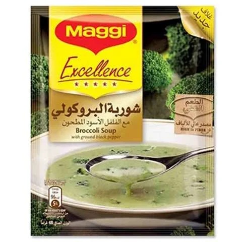 Maggi Excellence Broccoli Soup 48 Gram - MartDeliver