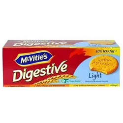 Mcvities Biscuits Digestive Light 400 Gram
