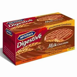 Mcvities Digestive Biscuit Milk Chocolate 200 Gram