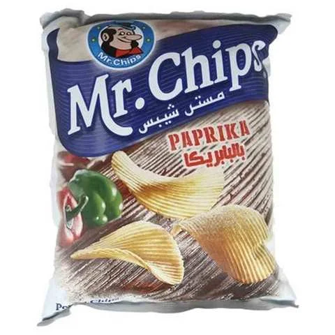 Mr.Chips Potato Paprika Flavor 165 Gram - MartDeliver