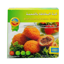 Nabil Beef Stuffed Potato Kubbe 900 Gram - MartDeliver