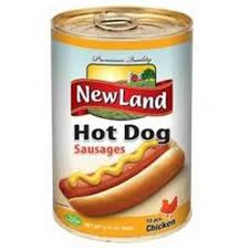 Newland Hot Dog Chicken 400 Gram - MartDeliver