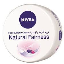 Nivea Natural Fairness Face And Body Cream 200 Ml - MartDeliver