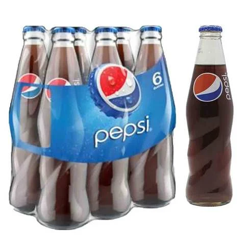 Pepsi Drink 250 Glass Ml 6 Pieces - MartDeliver