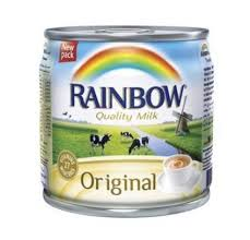 Rainbow Milk Evaporated Original 170 Gram - MartDeliver
