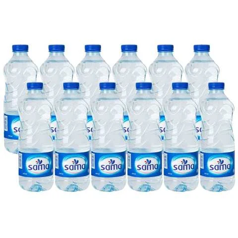 Sama Water 600 Ml 12 Pieces - MartDeliver