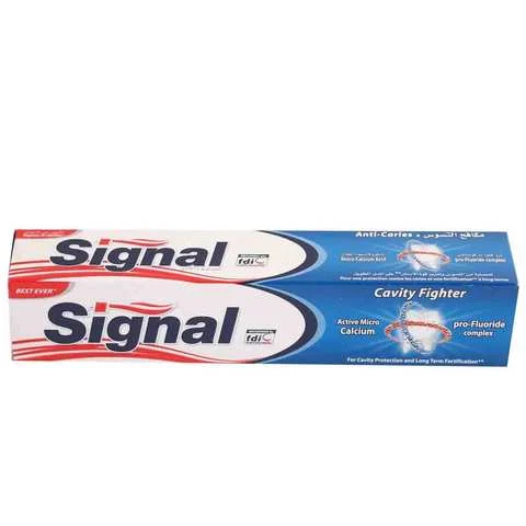 Signal Toothpaste Cavity Anti Caries Regular 120 Ml - MartDeliver