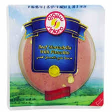 Siniora Beef Mortadella With Pistachio Slice 200 Gram - MartDeliver