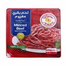 Siniora Minced Beef Tray 400 Gram - MartDeliver