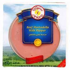 Siniora Mortadella Pepper Slices 200 Gram - MartDeliver