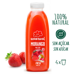 Sumo Morango Sonatural 750ml