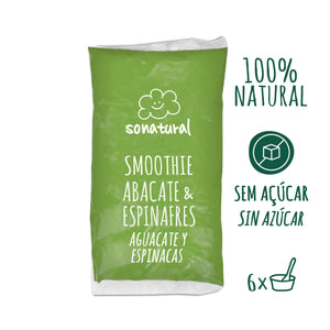 Smoothie Abacate e Espinafres Sonatural 1kg