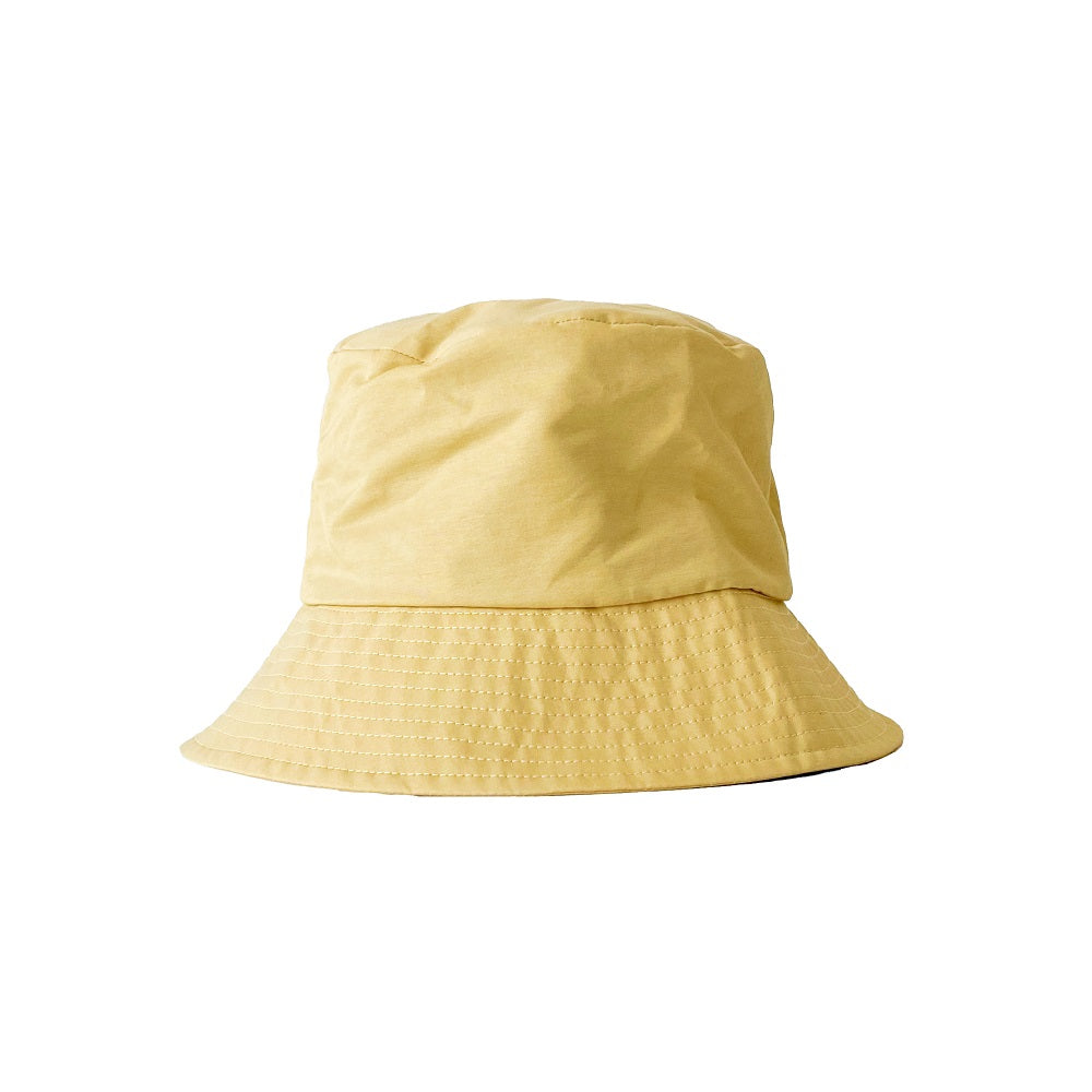 COTTON NYLON BUCKET HAT【001581352】