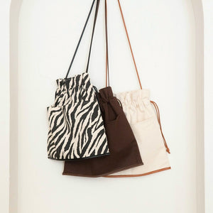 ECO LEATHER-LINE 巾着BAG【003400958】