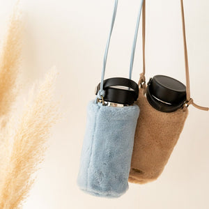 ECO FUR BOTTLE BAG【003400959】