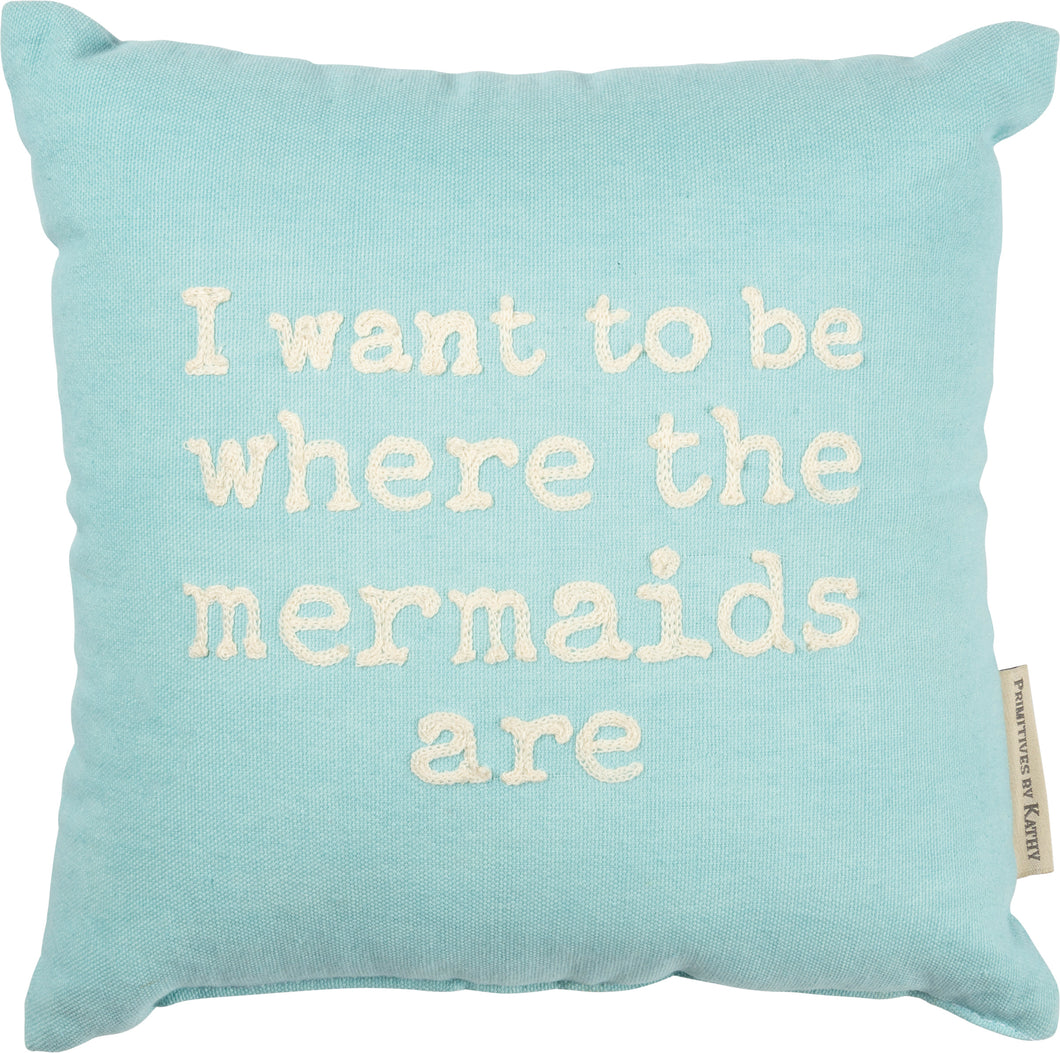 Pillow - Mermaids