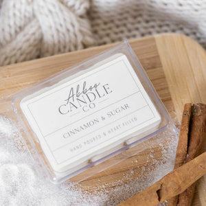 Cinnamon & Sugar Soy Wax Melts by Abboo Candle Co