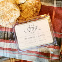Load image into Gallery viewer, Cinnamon & Sugar Soy Wax Melts by Abboo Candle Co