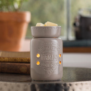 Midsize Illumination Fragrance Warmers - Faith Family Friends