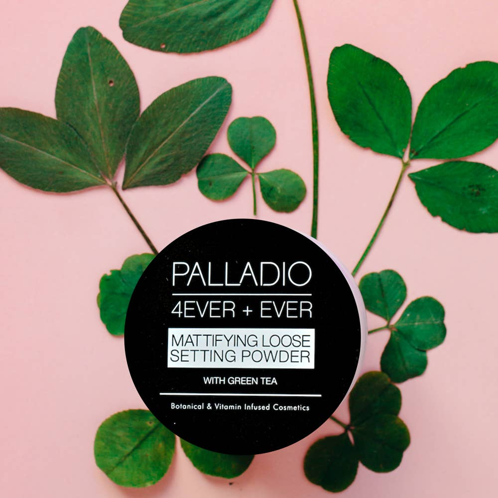 Palladio Beauty - Mattifying Setting Powder - Translucent