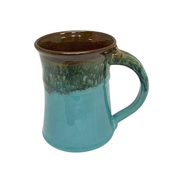 Clay in Motion Large Mug - Ocean Tide