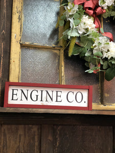 Engine Co Sign