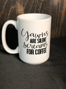 Yawns are... Mug
