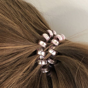 Spiral Hair Bands-Large 3 pack
