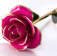 Load image into Gallery viewer, 24K Gold Dipped Pink Rose