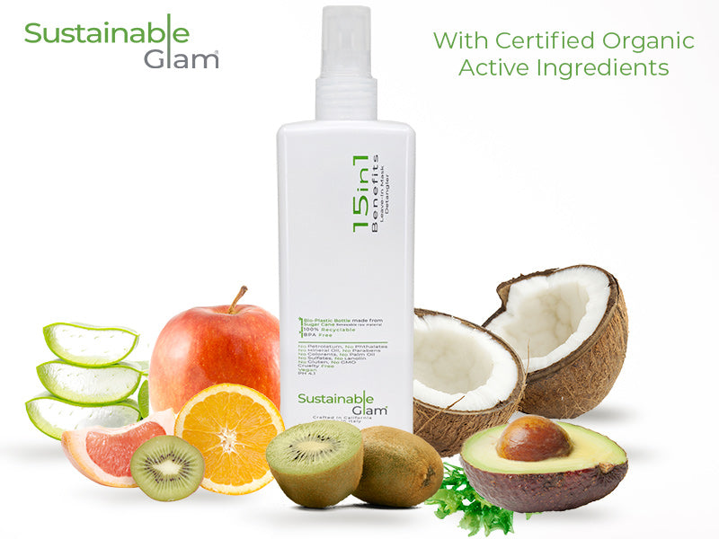 Sustainable Glam 15in1 Benefits Leave-in Conditioner Detangler