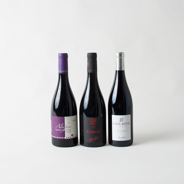 SYRAH PACK (x3 bottles) - Northern Rhone 2