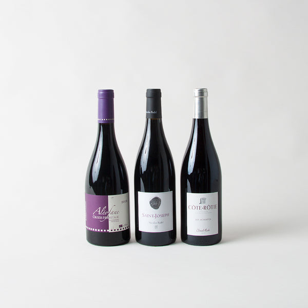 SYRAH PACK  (x3 bottles) - Northern rhone 1