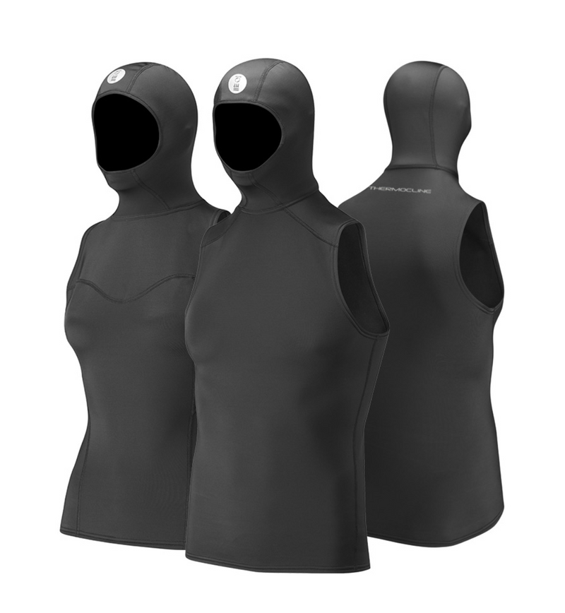 Wetsuit - Fourth Element Thermocline Men's Hooded Vest