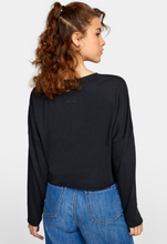 Load image into Gallery viewer, Tee - RVCA Hot Stuff Long Sleeve Tee
