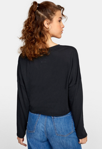 Tee - RVCA Hot Stuff Long Sleeve Tee