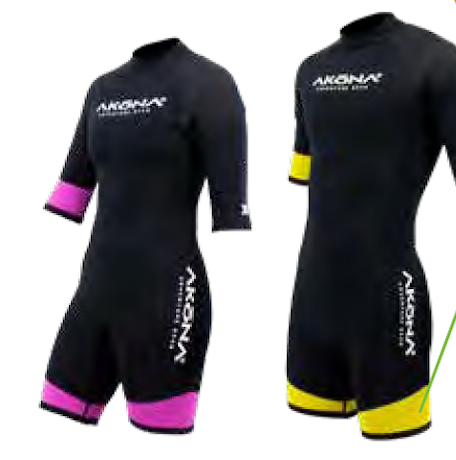 Wetsuit - Akona 3mm Shorty Wetsuit