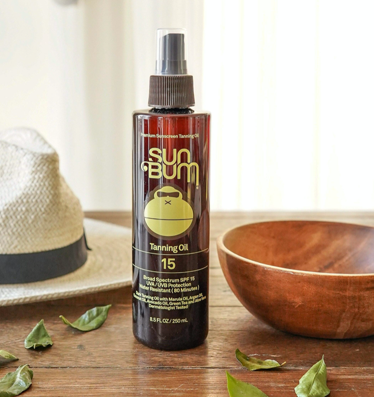 Sun Bum SPF 15 Sunscreen Tanning Oil 8oz