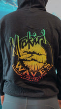 Load image into Gallery viewer, Hoodie - Retro Logo Makin Waves Hoodie